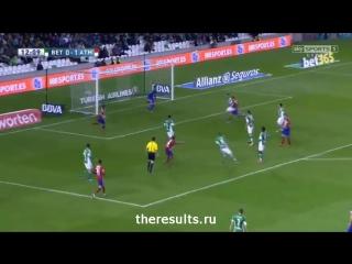 Обзор матча Реал Бетис - Атлетико Мадрид (0:1) 22.11.2015