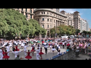 Испания. Мое путешествие в Барселону на праздник покровительницы города Девы Марии Милосердия.