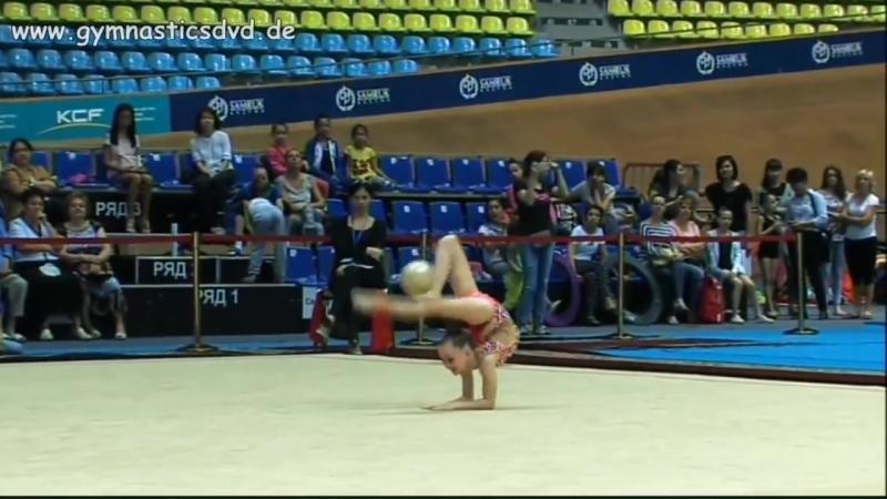 Ульяна Травкина, мяч,Жулдыз-Астана 2016