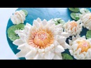 HOT CAKE TRENDS Buttercream Water Lily cake - How to make by Olga Zaytseva