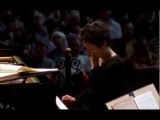 Maria Joao Pires expecting another Mozart concerto during a lunch-concert in Amsterdam