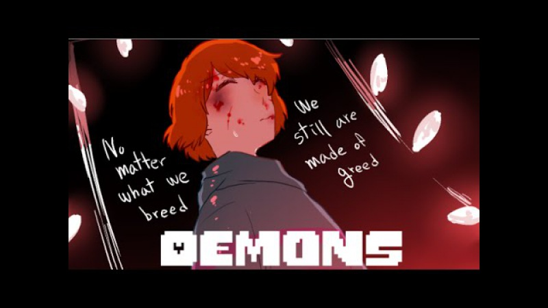 【Undertale】Demons (Lyric Comic)