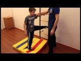 Тренировка ребенка на комплексе Карусель