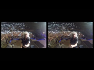 Selfie Stick Video |3-D| Barcelona, Palau Sant Jordi [May 22, 2016] - Brian May