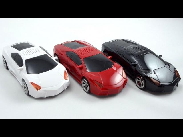 Колонка-машинка Lamborghini Aventador. Полный Видеообзор