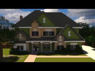 Как построить Красивый Семейный Дом в Minecraft!