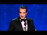 Jean Dujardin Wins Best Actor 2012 Oscars
