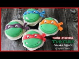 TMNT Cupcake Toppers Renee Conner