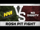 Rosh pit fight! by Na`Vi vs No Diggity @ DreamLeague S5