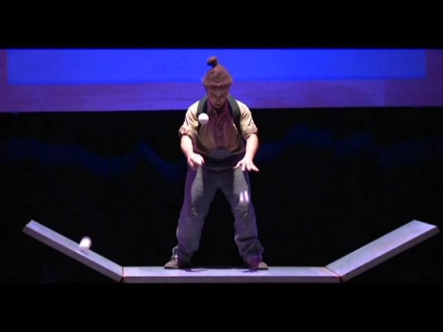 Tibo Tout Court - Cirque Plume , JONGLAGE,MUSical