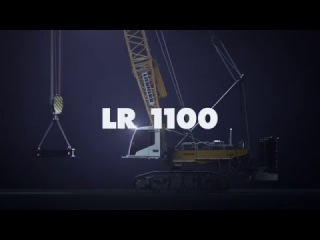 Liebherr - The new LR 1100 crawler crane