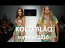 KOCO BLAQ swimwear show, spring/ summer 2016.Miami swim week
