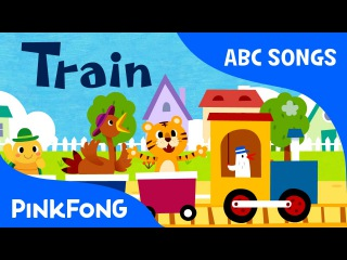 T | Train | ABC Alphabet Songs | Phonics | PINKFONG Songs for Children