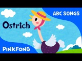 O  Ostrich  ABC Alphabet Songs  Phonics  PINKFONG Songs for Children