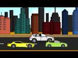 Мультфильм игры для детей - Мультфильмы об автомобилях - мультик про машинки все серии подряд