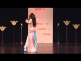 Queenie is Bellydancer of the World 2011