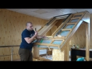 Монтаж мансардного окна Fakro Факро