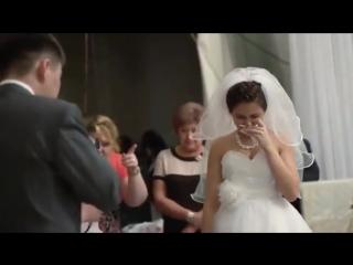 Сестра зачитала рэп на свадьбе