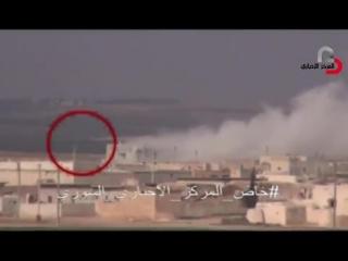 Сирия.03.02.2015.Спецназ Тигры в боях против даиш в местности Almazza,провинция Алеппо