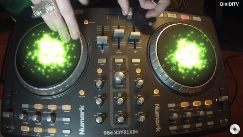 DiniDiTV Scratch on Numark MixTrack Pro (Jam1)