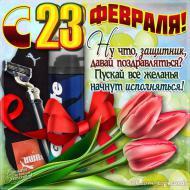 С Днем защитника Отечества 23 февраля