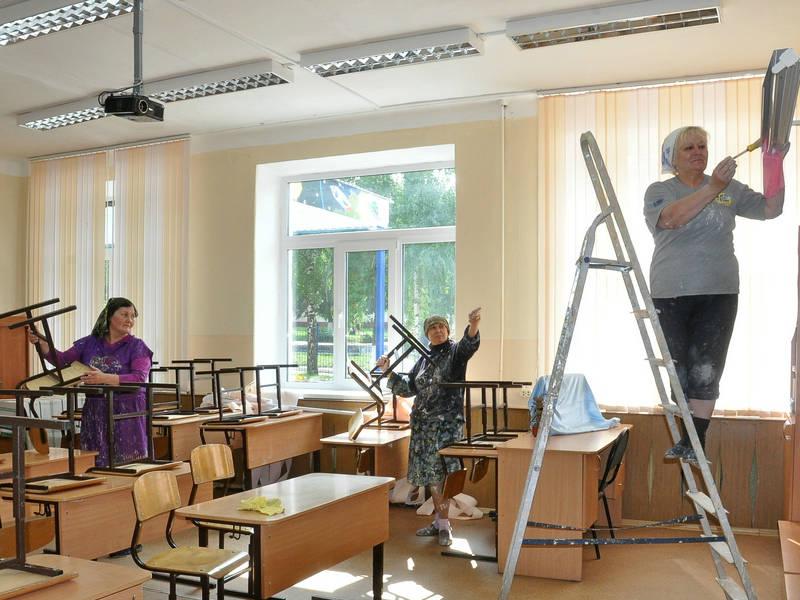Школы Армянска отремонтированы на 600 тысяч рублей