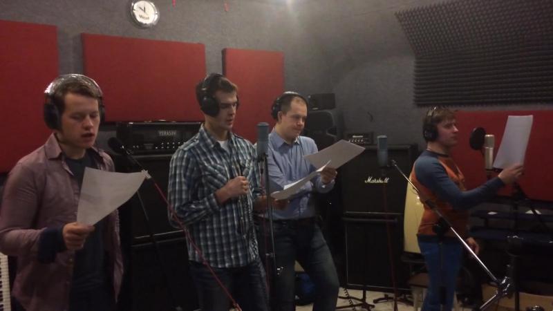 Хоровой ансамбль Silver voice на записи для проекта ATONISMEN