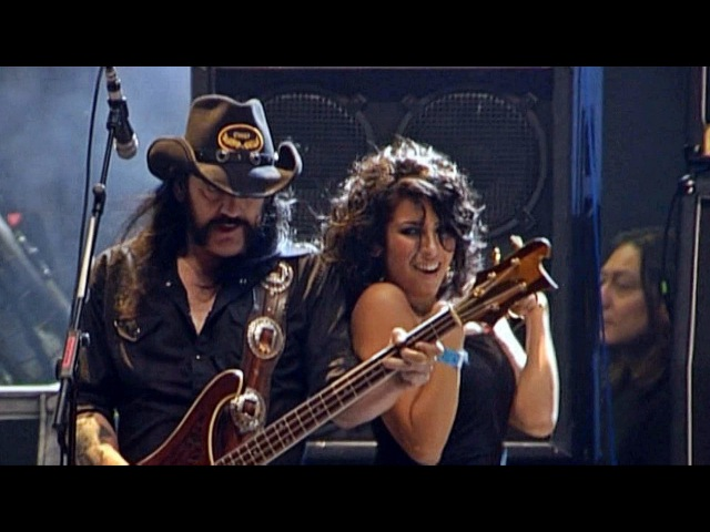 Motörhead (Feat Nina C Alice) Killed by Death live Wacken 2009