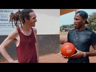 Didier Drogba and Fun For Louis take a sustainable break
