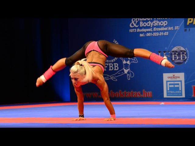 IFBB World Juniors and Masters Bodybuilding and Fitness Championships 2012 Budapest - Melinda Szabo