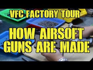 DesertFox Airsoft: VFC Factory Tour (How Airsoft Guns Are Made)