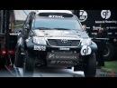 Dakar 2016: Toyota Hilux and MAN service truck | Benediktas Vanagas