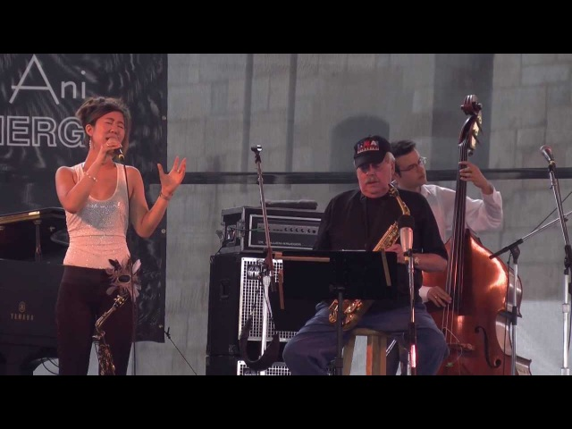 Grace Kelly with Phil Woods At the Newport Jazz Festival 2011 Newport City Limits