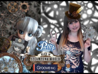 Обзор куклы Pullip — Mad Hatter in Steampunk World Пуллип — Безумный шляпник в мире Стимпанка
