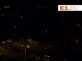 На Ленинградской ветром оборвало провод ЛЭП