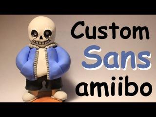 Sans Custom Amiibo!