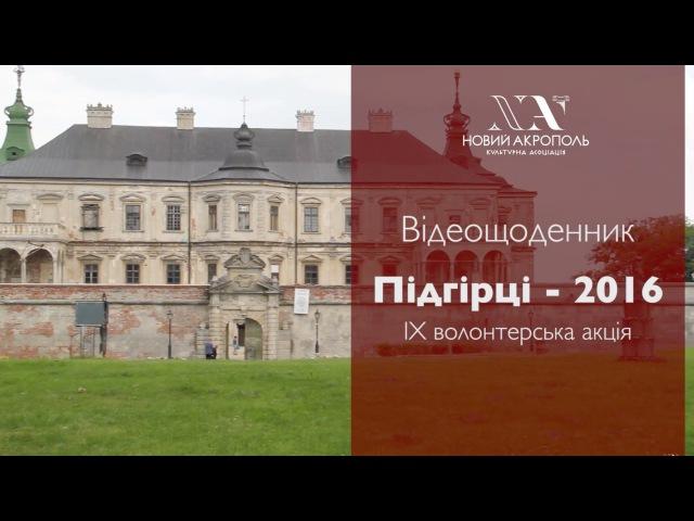 Відеощоденник, Підгірці - 2016. Олена Косюченко