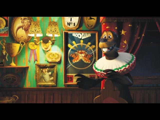 Видео к мультфильму «Мадагаскар3» (2012): Трейлер №2 (дублированный)