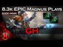 EPIC 8 3k MMR Magnus Forcestaff Plays Dota 2