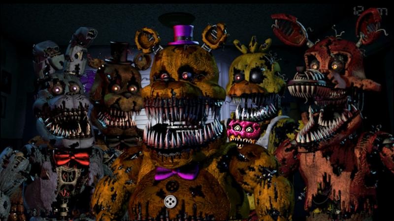 Самые Смешные Моменты Летсплейщиков в Five Nights at Freddy's 4