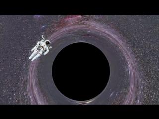 Путешествие внутрь черной дыры // Vsauce