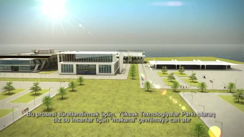 Yüksək Texnologiyalar Parkı High Tech Park Azerbaijan