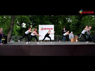 Анжелика Зубкова и ее ученики на концерте школы танцев Сарафан /21 05 16/