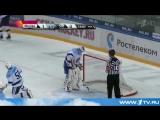 В очередном матче регулярного сезона КХЛ ЦСКА в Москве победил новосибирскую