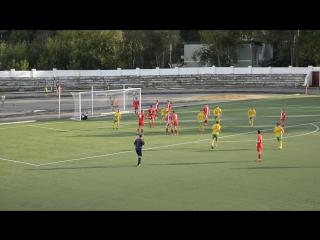 Первый гол Рекорд-Фаэтон в ворота Ополье