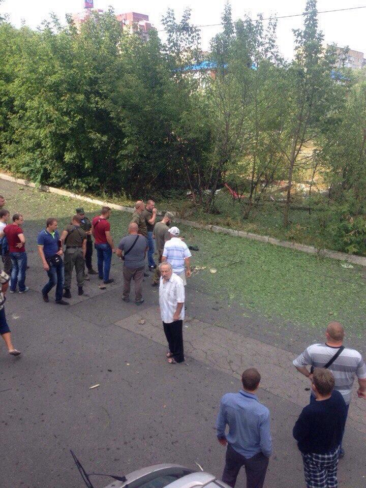 Срочно: В центре Донецка прогремел мощный взрыв, один человек погиб