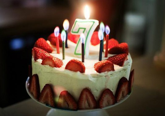 Поздравления с днем рождения.семилетнему мальчику