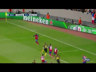 Steaua bucuresti vs manchester city – highlights