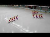 Аквамарин-2 Омск......Москва Novice Cup 27.03.2016 год. 2 место