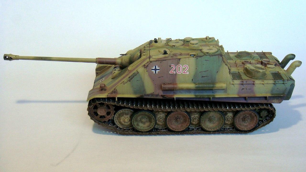 Jagdpanther (Late\поздний вариант) (Tamiya 35203 1/35) - Страница 2 SvnkddZGqnM